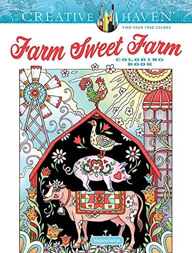 Creative Haven Farm Sweet Farm Coloring Book