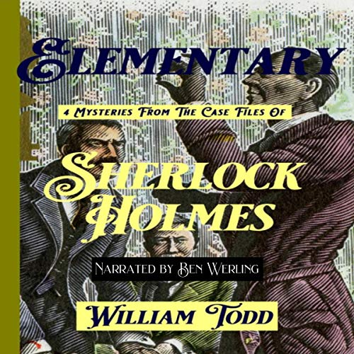 Elementary: 4 Mysteries from the Case Files of Sherlock Holmes cover art