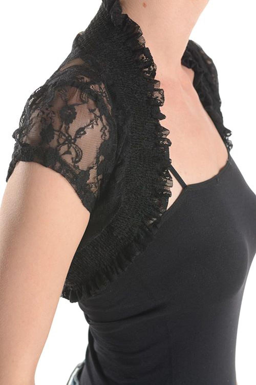 Fashion Secrets New Short Sleeve Lace Bolero Shrug Cardigan