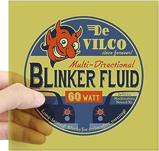 CafePress Devilco Blinker Fluid Square Sticker 3 X 3 Square Bumper Sticker Car Decal, 3