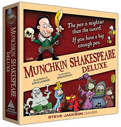 Steve Jackson Games SJG01564 Munchkin Shakespeare Deluxe - Juego de Cartas (en inglés)