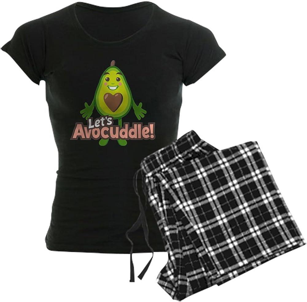 CafePress Emoji Avocado NEW before selling ☆ Avocuddle Women's No Womens Dark Pajamas At the price