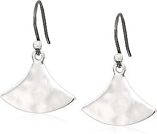 Lucky Brand Fan Drop Earrings, Silver