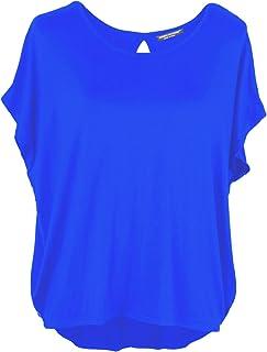 Emma & Giovanni - Basic zomer T-shirt/bovenstuk korte mouwen (Made in Italy) - dames