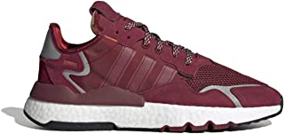 Adidas Originals Mens Mens Nite Jogger formatori in bordeaux