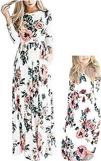 507ebaa51543 Orianna Mommy and Me Maxi Dresses