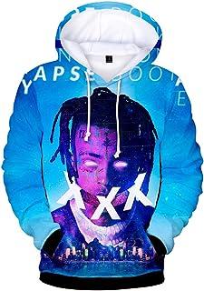 Silver Basic Xxxtentacion Hoodie 3D Printed Hooded Pullover Sweatshirt Jacket