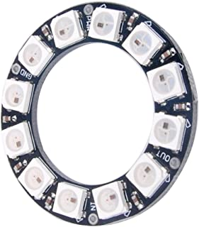 DIYmall 12 Bits 12 X WS2812 5050 RGB LED Ring Lamp Light with Integrated Drivers