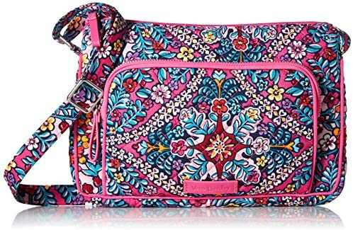 Vera Bradley womens With Protection Vera Bradley Women s Signature Cotton RFID Little Hipster product image
