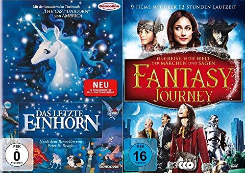 Das letzte Einhorn – 10er Fantasy Weihnachten Collection - mit Plätzchenausstecher + Das letzte Einhorn kehrt zurück + Snow White + Herr der Elfen u.v.m. DVD Limited Edition