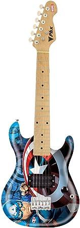 Guitarra Marvel Capitao America Gmc-K2