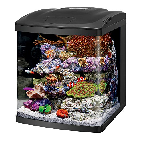 Coralife Fish Tank LED BioCube Aquarium Starter Kits, Size 16