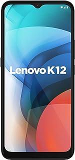 هاتف لينوفو كيه 12، 64 جيجا روم، 4 جيجا رام، معدني، اللون رمادي