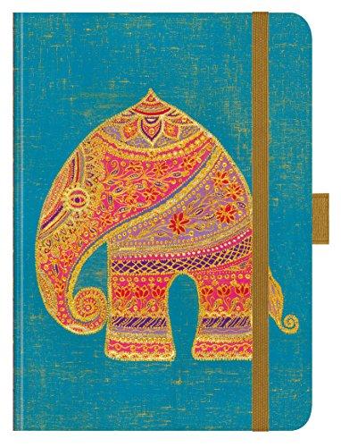 PT Big Schäfer Elefant 270619 2019: Hochwertiger Buchkalender. Terminplaner mit Wochenkalendarium, Gummiband und Stifthalter. 12 x 17 cm