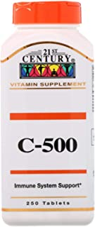 21st Century, C-500, 250 Tablets