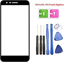 Ubrokeifixit Compatible Front Outer Screen Glass Lens Replacement for LG K30 X410/K11 Prime 2018/Phoenix Plus X410AS/Premier Pro L413DL/X410CS Harmony 2/K30 Xfinity Mobile/K30 LRA(NO-LCD,NO-Touch)