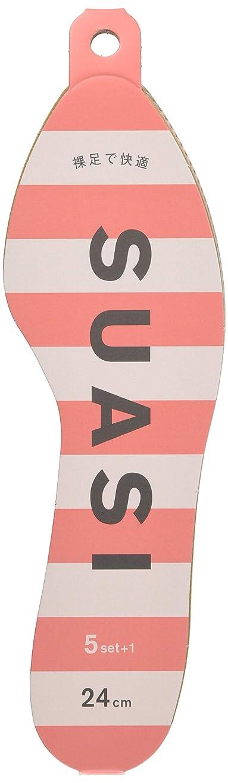 地理教える固有の紙製中敷 SUASI 5足入り×5袋 24cm