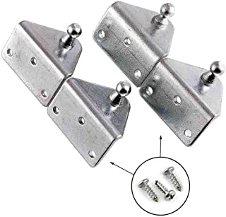 Gas Spring Lift Support Mounting Brackets 10mm Ball Stud - (2 Pair - 10 Millimeter)