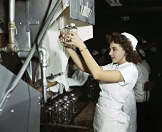 Wwii Workers 1942 Na Worker With Blood Transfusion Bottles At Baxter Laboratories In Glenview Illinois Photograph By Howar...