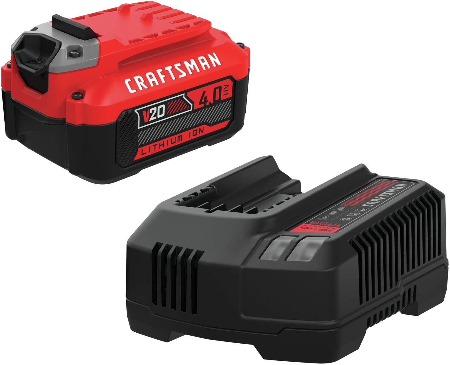 CRAFTSMAN V20 Craftsman Ranking TOP12 Battery Power Charger Include Memphis Mall Tool Kit
