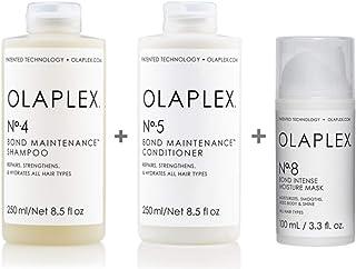 Olaplex Set - Olaplex Bond Maintenance Shampoo No 4 250ml + Olaplex Bond Maintenance Conditioner No 5 250ml + Olaplex Bond...