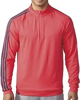 adidas Golf Men's 3-Stripes 1/4 Zip Layering Top
