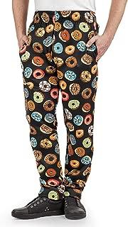 Men's Donut Print Chef Pant (XS-3X)