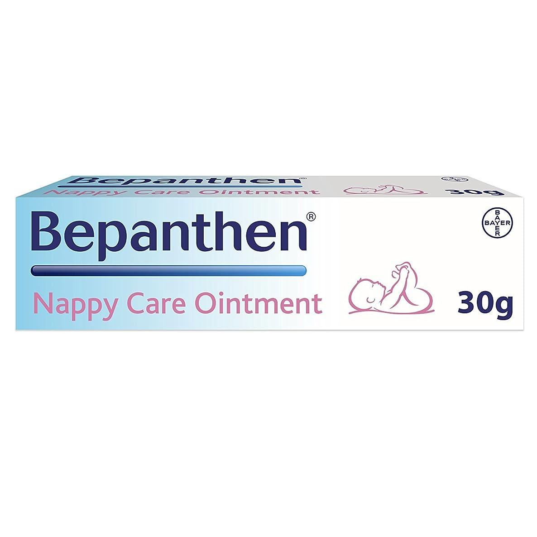 扱うコーナー実際Bepanthen 皮膚穏やかおむつ(おむつ)かぶれ損傷によって保護おむつかぶれクリーム30gのFOC 3.5g-。