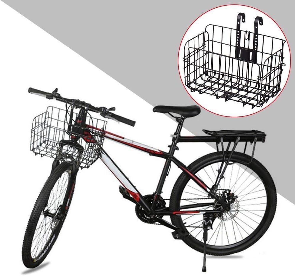 Bicycle Front Basket Carrier Bike Foldable Storage Bag Basket Front Carrier~JP