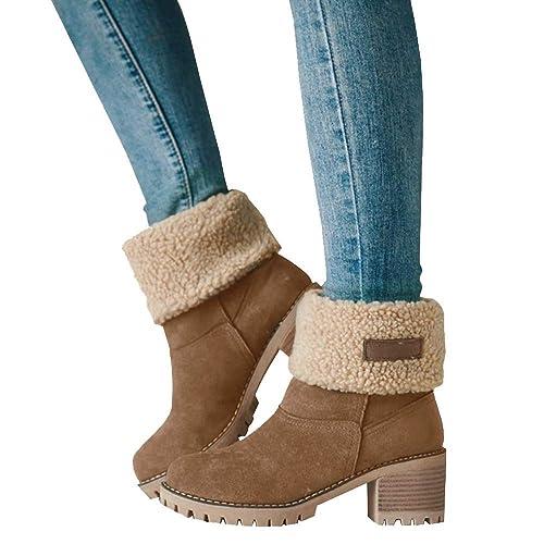 2574eaa7916e0 Women's Winter Ankle Boots: Amazon.com