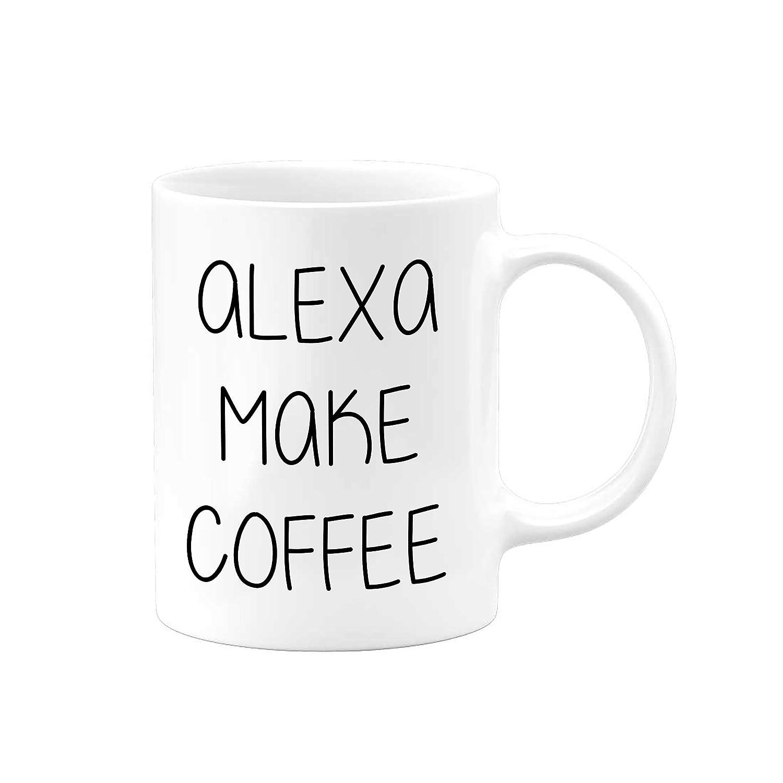 Alexa Make Coffee Funny Mugs T Gifts Christmas Mug Fixed price for sale Max 57% OFF Tea
