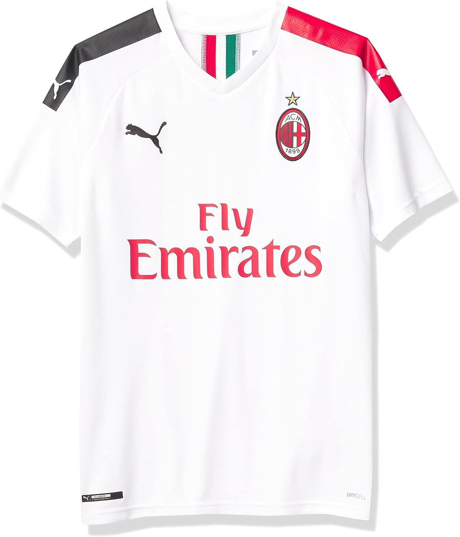 PUMA Men's Ac Milan ACM Away with Shirt Sponsor 2021 spring and summer new Phoenix Mall Replica Logo