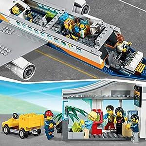 Amazon.co.jp - レゴ シティ パッセンジャーエアプレイン 60262