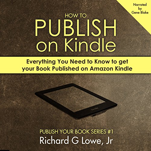 How to Publish on Kindle audiobook cover art