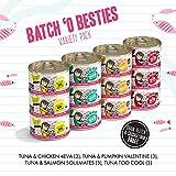 B.F.F. Originals Batch 'O Besties Variety Pack Wet Cat Food, 3 oz, Count of 12, 12 CT