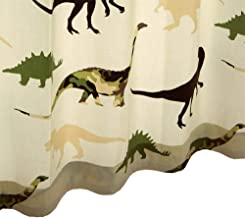 フラットカーテン【キョウリュウ】 ウォッシャブル 巾100cm-丈~180cm 1枚 巾100cm×丈170cm