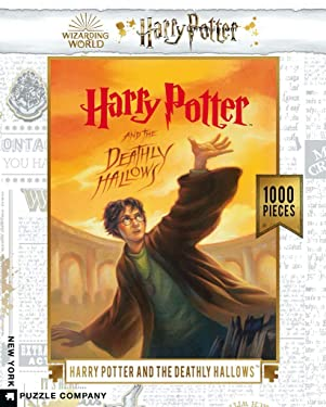 New York Puzzle Company - Harry Potter Deathly Hallows - 1000 Piece Jigsaw Puzzle