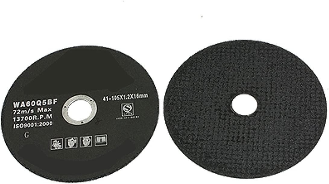 Aexit 2 Pcs Abrasive Wheels Challenge the lowest price Discs Thick 55% OFF 1.2mm Outside 4.1