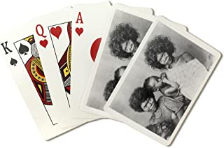 Women with Babies in the Philippines Photograph (Playing Card Deck - 52 Card Poker Size with Jokers)