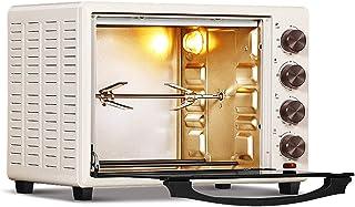 Horno eléctrico multifunción doméstico de 32L 5 modos de horneado Control de temperatura independiente de los tubos superior e inferior Fermentación completamente automática Parrilla giratoria de 36