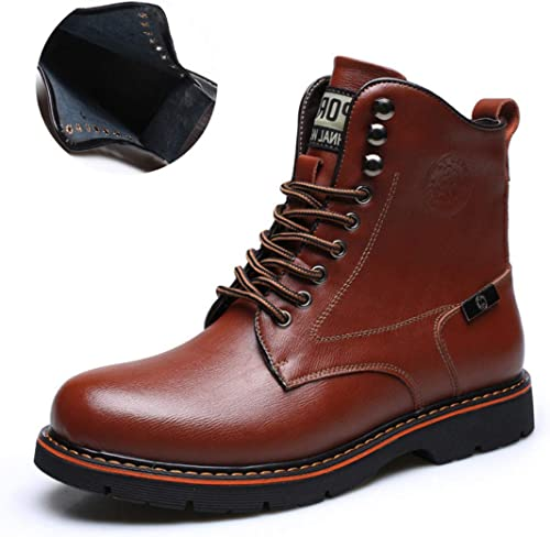 DANDANJIE Herrenmode Stiefel Britischen Stil Stiefel Stiefelies Stiefeletten SchwarzBraun Party & Abend für den Herbst