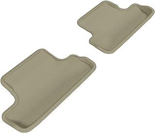 3D MAXpider Custom Fit Floor Mat for Select Audi TT/TTS Models - Kagu Rubber Second Row For brown L1AD02921502