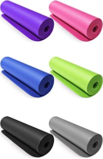 Sunrise Yoga Mat High Quality Non-Slip fitness 10mm thickness with free strap