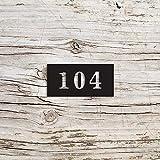 Letrero de dirección 3D moderno con números de casa y metal, para pared, diseño de raíces de metal, decoración de pared, decoración de pared para casa de campo, porche, decoración del hogar