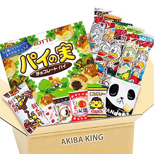 Pie no Mi & Japanischer Snack DAGASHI mit AKIBA KING Aufkleber