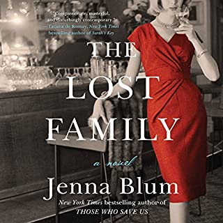 The Lost Family     A Novel              By:                                                                                                                                 Jenna Blum                               Narrated by:                                                                                                                                 Will Damron                      Length: 14 hrs and 17 mins     58 ratings     Overall 3.9