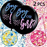 Annhao Reveal di Genere Palloncino, 2 Pezzi Baby Shower Balloon Boy or Girl Reveal Party Palloncino...