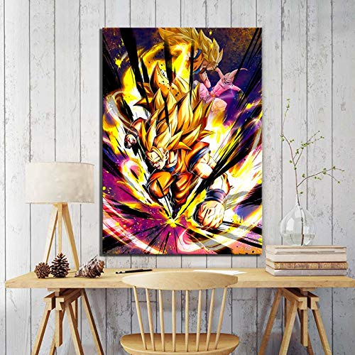 HD prints anime dragon ball goku kakarot poster wall artist home decoration painting modular picture artwork living room bedroom corridor wall painting