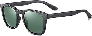 NJJX - Gafas De Sol Polarizadas De Moda Para Hombre, Gafas De Sol Cuadradas Clásicas Para Hombre, Gafas De Sol Deportivas Para Hombre, Gafas Sin Paquete
