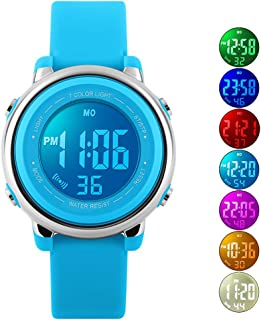 Kids Watch Sport Multi Function 50M Waterproof LED Alarm Stopwatch Digital Child Wristwatch for Boy Girl